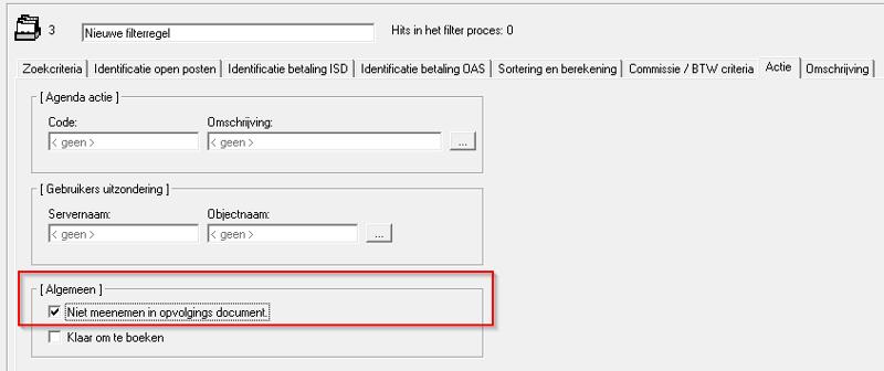 Automatiseren met Crescendo filterregels 2