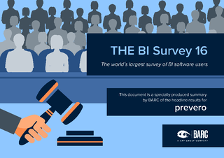 Prevero in The BI Survey